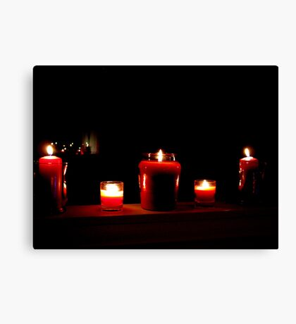 Valentine Mood Lighting Canvas Print
