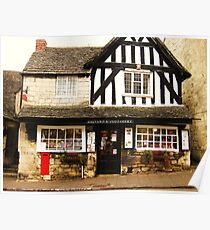 Painswick Post Office - Cotswolds Poster