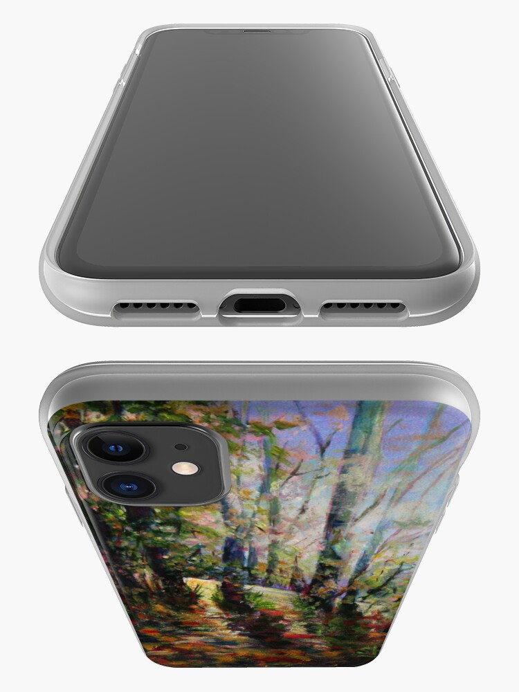 Alternate view of Enchanted Forest iPhone Case & Cover