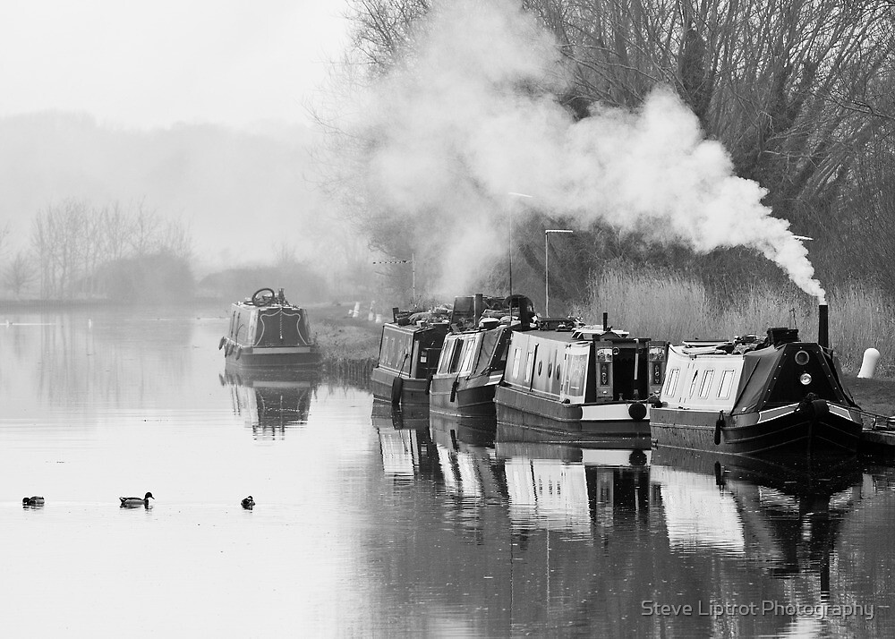 The Gloucester and Sharpness Canal by Stephen Liptrot