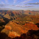 Grand Canyon Evening by Stephen Vecchiotti