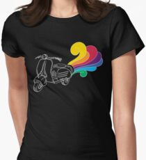 Scooter Illustration T-Shirt