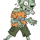 Zombie sticker 1 by dolokecki