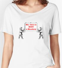 No, this is not a Banksy Women's Relaxed Fit T-Shirt