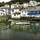 Polperro, Cornwall by hanspeder