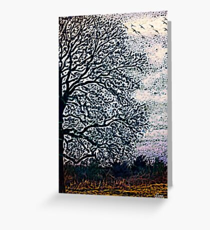 Almost Winter Greeting Card
