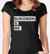 BUKOWSKI & ME Women's Fitted Scoop T-Shirt