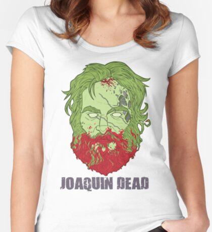 Joaquin Dead Women's Fitted Scoop T-Shirt