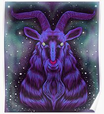 Space Goat Poster
