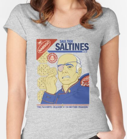 Saultighnes Women's Fitted Scoop T-Shirt