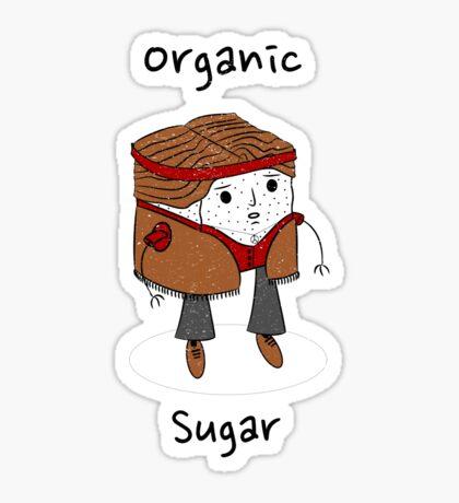 Organic Sugar Sticker