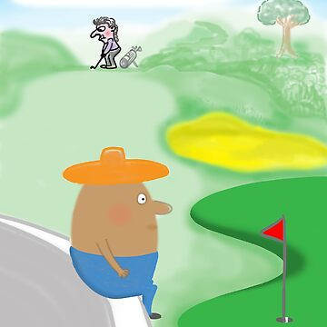 Golf v Humpty Dumpty by andromada