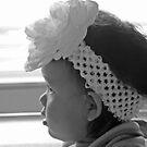 Flower In Her Hair by Chet  King