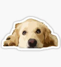 Chillin Pup  Sticker