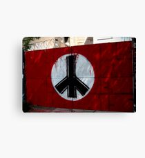 peace in east berlin Canvas Print