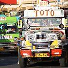 Traffic in Tacloban City by Henk van Kampen