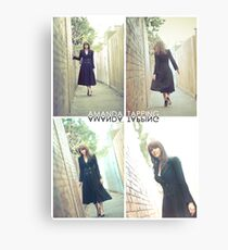 """""""Alley Cat"""" [Amanda Tapping - Actors Studio Very Limited Edition Series Print] Canvas Print"""
