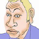 Michael Gove Cartoon Caricature 2 by Grant Wilson