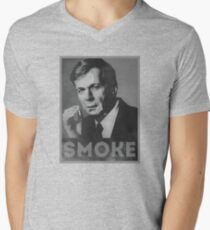 Smoke! Funny Obama Hope Parody (Smoking Man)  T-Shirt