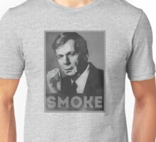 Smoke! Funny Obama Hope Parody (Smoking Man)  Unisex T-Shirt