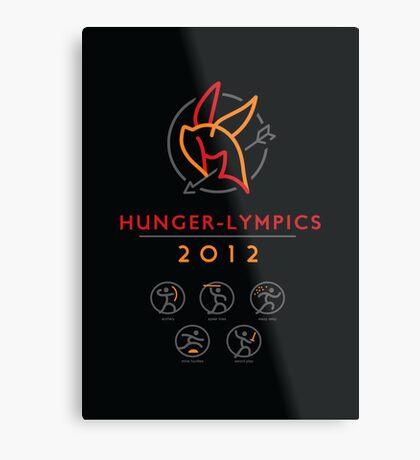 Hunger-lympics - POSTER Metal Print