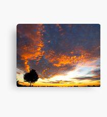 Cloud bolt Canvas Print