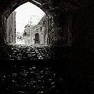 Archway, The Sassi Quarter, Matera, Basilicata, Italy by Andrew Jones