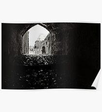Archway, The Sassi Quarter, Matera, Basilicata, Italy Poster