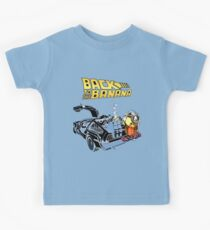Back To The Banana Future Kids Tee