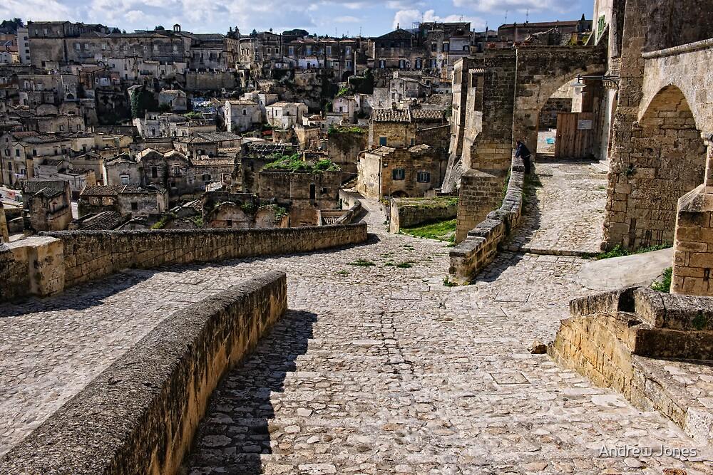 Via Muro, Matera, Basilicata, Italy by Andrew Jones