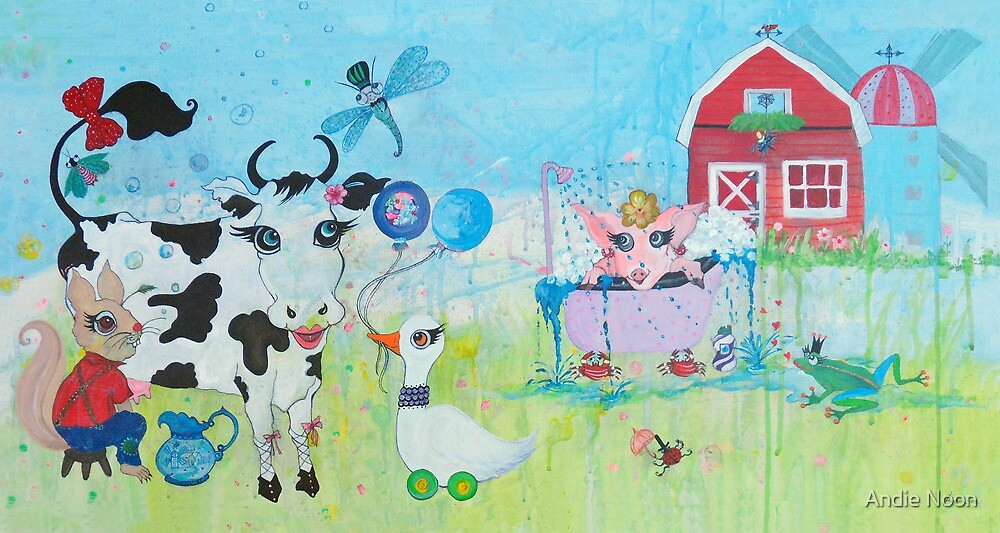 Once Upon a Barn by Andie Noon