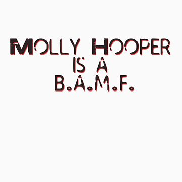 Molly Hooper is a B.A.M.F. by eleanor89