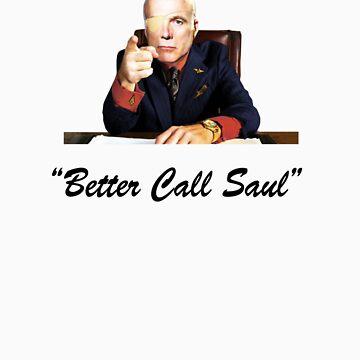Better Call Saul Tigh (black) by Sacana