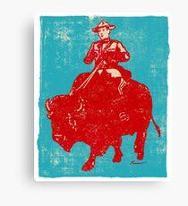 Border Patrol - Canada / Buffalo Canvas Print