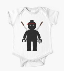 Ninja Minifig / TMNT Foot Soldier Kids Clothes