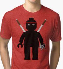 Ninja Minifig / TMNT Foot Soldier Tri-blend T-Shirt