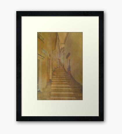 Temperance Place Framed Print