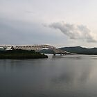 San Juanico Bridge by Henk van Kampen