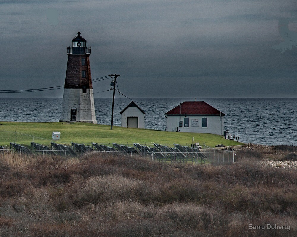 Point Judith Lighthouse by Barry Doherty