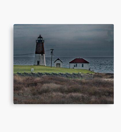 Point Judith Lighthouse Canvas Print