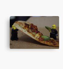 Pizza Thieves Canvas Print