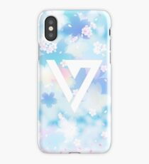 Pastel Floral Seventeen Kpop iPhone and Samsung Case iPhone Case/Skin