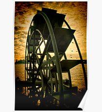 Hudson River Wheel Poster