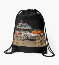 Ghostbuster Halloween Drawstring Bag