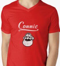 Commie Mens V-Neck T-Shirt