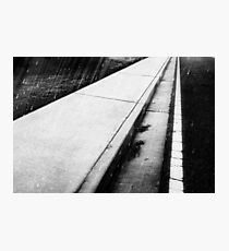 The world beneath our feet; sometimes we fail to simply look down and watch our step Photographic Print