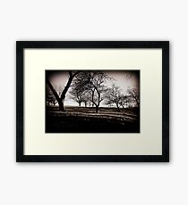 Stark Twilight Framed Print