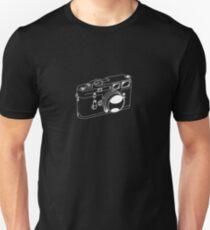 Leica M3 - White Line Art - No Text Unisex T-Shirt