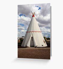 Route 66 - Wigwam Motel Greeting Card