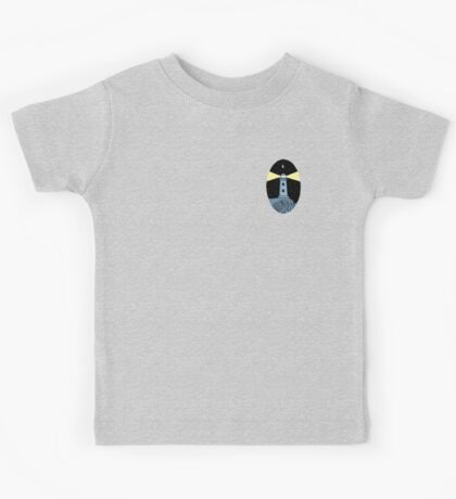 The Lighthouse (breast logo version) Kids Clothes